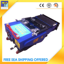 professional disign wall plastering machine with plastering tools