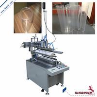 Semi-automatic printed tube making machine clear plastic cylinder