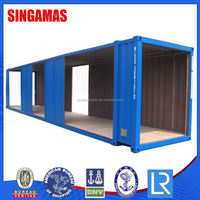 45ft Prefab Cabin Container House Manufacturer