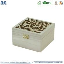 Cheap antique small rectangular decorative wood jewelry box, decorative storage boxes