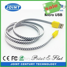 wholesale 2tb flash speed 28AWG 2C for Kingston iphone usb shielded high speed micro usb cable
