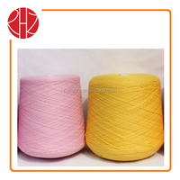 color shade card colored cotton polyester blended yarn 20S