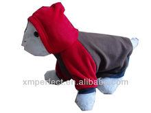 2013 New Design Polar Fleece Fancy Dog Coat With Cap