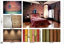 wood texture special wallpaper stone pattern vinyl wallpaper for home project