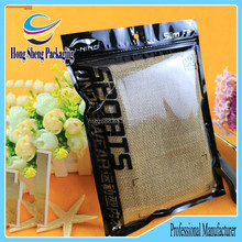 Resealable Underwear Packaging Bags, Laminating Materials Apparel Packaging Bags