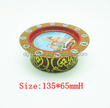 printed round individual cookie tin box with ISO certified