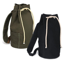 2015 Fashion Boy Men's Vintage Rucksack Satchel Canvas Backpack bags for school