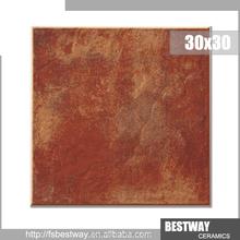 New Design! Non-slip rustic size 30x30 ceramic floor tile