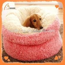China made soft pink beds dog pet supplies