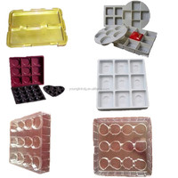 disposable cake inner plastic tray packaging for dessert/biscuit/pastry