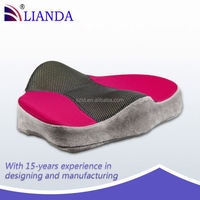 bottom seat cushion for office lady/ office chair back support/ foam stadium padded seat cushion