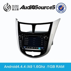 hyundai verna car parts with OPS IPAS MFD SWC 3G Radio Bluetooth