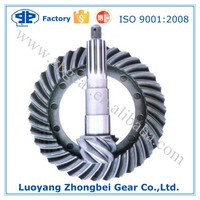 OEM Basin Angle Tooth Gleason Helical Spiral Bevel Gears for Auto and Truck