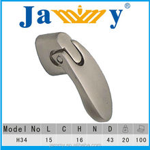 Chrome plated single hole Dresser pulls,Drawer Knobs Handles, High quality armbry door pulls, simple modern furniture hardware