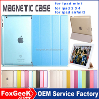Fancy cover and smart case with back case for ipad air 2 , for ipad mini 3 case, unbreakable case for ipad air