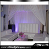 Wholesale Pipe and drape system muslim style wedding stage decoration
