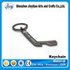 new design innovative hockey shape keyring ice-hockey stick bottle opener keyring