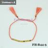 cheap custom handmade braided bracelet jewelry