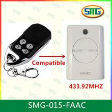 Faac xt4 433 mando a distancia 4- canal smg- 015- faac