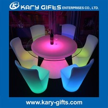 modern led round table sale led lighted dining table
