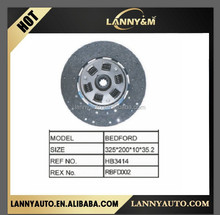 Bedford truck parts Clutch Disc HB3414 RBFD002 for Bedford truck