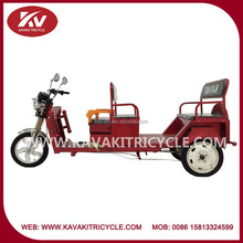 Wholesale China Guangzhou good quality 5 seat three wheel electric tricycle for passenger