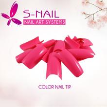 las uñas de acrílico de color diseños de uñas punta