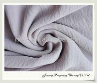 Shaoxing ITY chiffon in washing effect keqiao chiffon fabric textile