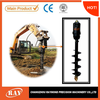 hydraulicly powered earth drill for agriculture