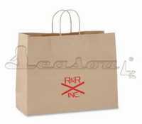 wholesale promotional high quality kraft paper bag china