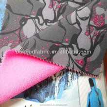 Rudolf chemie bonded fleece fabric for jacket softshell
