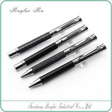 2015 Baoer new design unique metal exclusive high quality leather pen gift sets