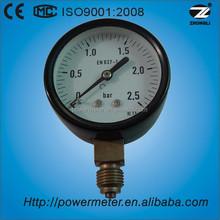 Hot sale 63mm OEM steel body motorcyle fuel pressure gauge meter