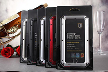 """mobile phone wallet case brand powerful tri protect Aluminum metal case for Apple iphone 6 plus, case for iphone 6 5.5"""""""