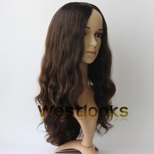 Skin Top Mongolian Human Virgin Hair Jewish Kosher Full Wigs