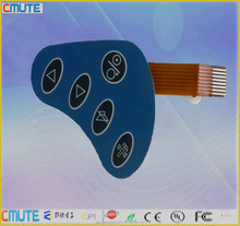 IP67 Waterproof Volume Control Membrane Switch Keypad