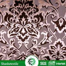 Changshu polyester printed velvet fabric stock lot