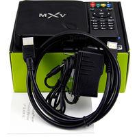 Hot selling Amlogic S805 Quad Core tv box Mali 450 MXV USB2.0 kodi14.2 802.11B/G/N WIFI 2.4GHz wifi smart android OTT tv box