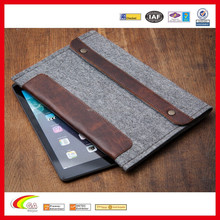 Various Design Customized New Style Best Selling Wool Felt Tablet Case, Cheap High Qaulity Felt Case by China Supplier