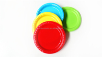 Disposable Plastic Plate 7/9inch Round Plate With High Quality