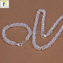 new design bracelet woman wear sterling 925 jewelry set S029