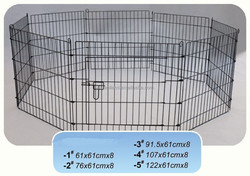 2015 Best Price Welded Wire New Folding Pet Pen Dog Pen Easy To Assemble