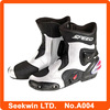Sports Outdoor Specialized Leather Protective Speed Mid-Calf Motorcycle Street Racing Boots Motobike Shoes