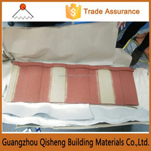 wind resistance super light colorful stone coated metal roof tile, roofing material optional styles