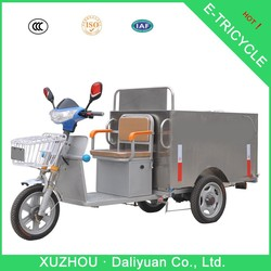 3 wheel motorcycle with roof 3 spoke wheel for garbage