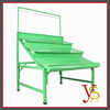 Supermarket Single Side Green Vegetable And Fruit Display Rack