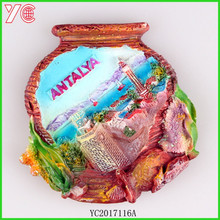 YC2017116A chinese supplier new design giveaway ceramic fridge magnet