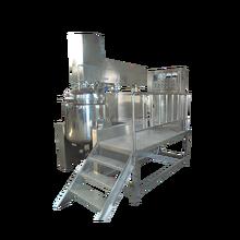 5L-5000L vacuum cream mixing machine with fixed tank