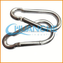 China The latest design stainless steel spring snap hook din5299 form c