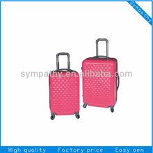 2014 Stylish Promotion Trolley Luggage Travel Bag Suitcase